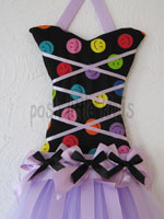 Happy Lavender Large Tutu Bow Holder