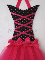 Hot Dots Large Tutu Bow Holder